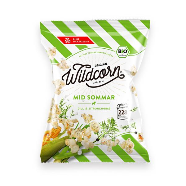 Wildcorn Mid Sommar hartige popcorn