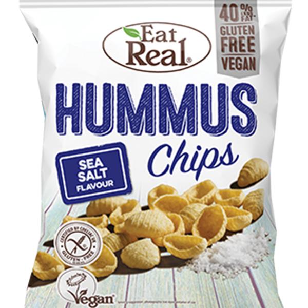eat real hummuschips Hummus Chips Sea Salt