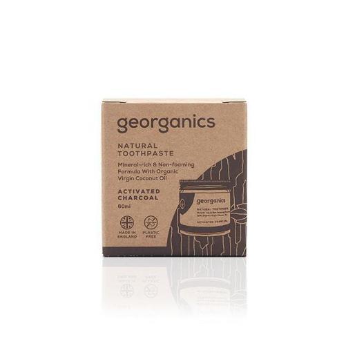 georganics toothpaste box