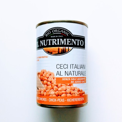 kikkererwten zoutarm Il Nutrimento