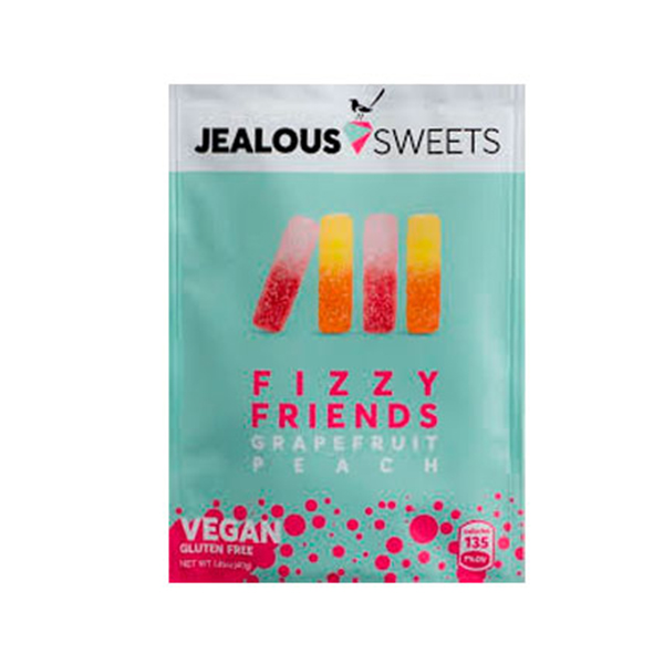 Jealous Sweets Fizzy Friends vegan snoep