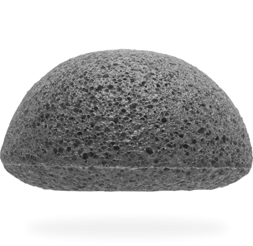 bamboe houtskool Konjac spons charcoal