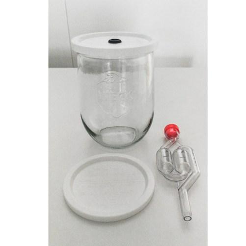 fermenteerpot weckpot met waterslot