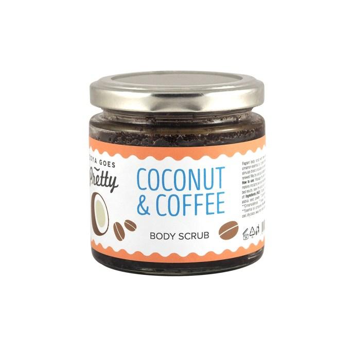 coconut and coffee body scrub zoya goes pretty