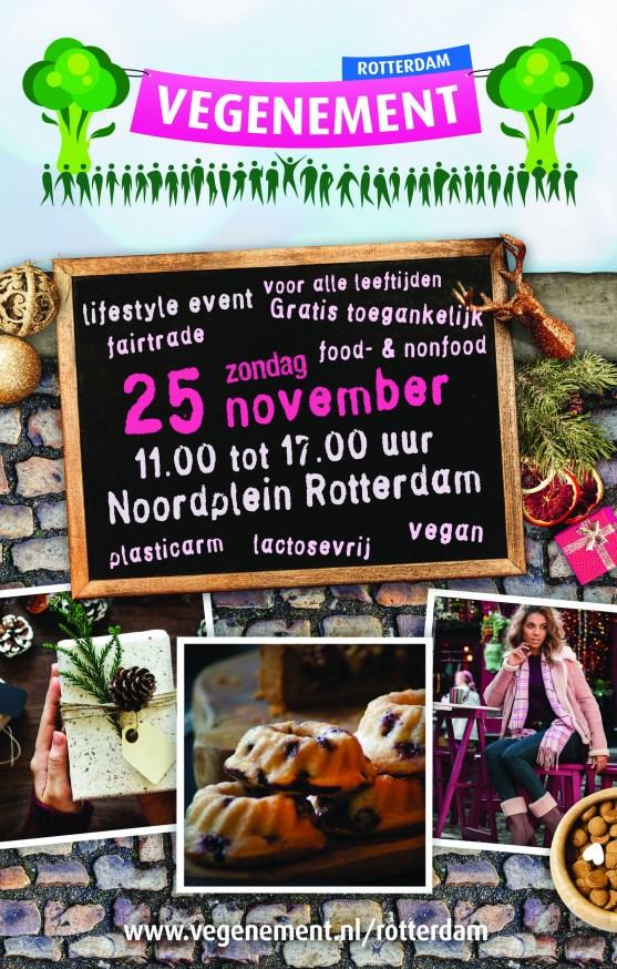 Vegenement Rotterdam met tAK a plant-based lifestyle