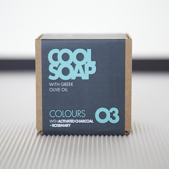 Cool Soap Colours 03 charcoal vegan soap bij tAK