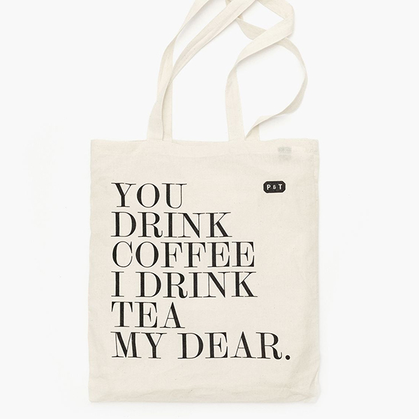Paper & Tea My dear Tote bag