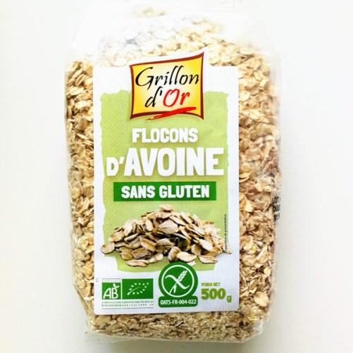 glutenvrije havervlokken - Grillon d'Or 500gr