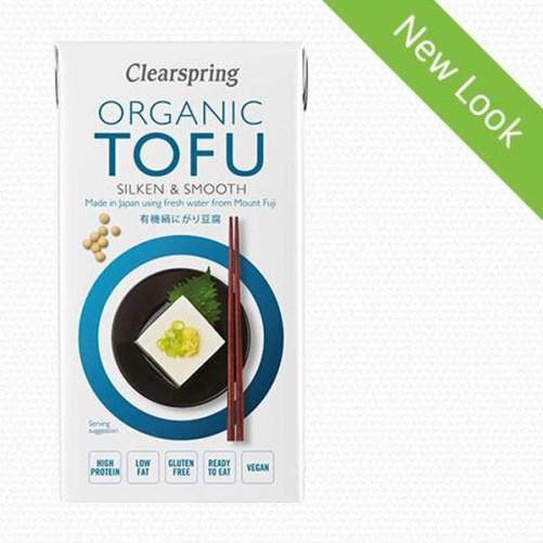 Silken tofu 300gr Zijden tofu van Clearspring