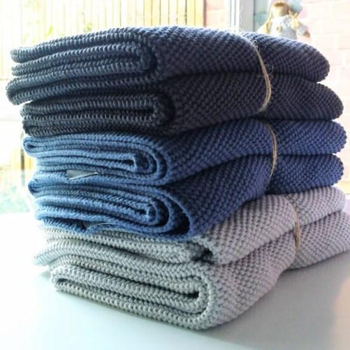 gebreide keukenhanddoek Södahl tea towels