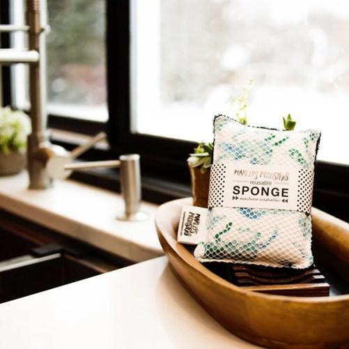 wasbare spons Marley's Monsters washable sponge