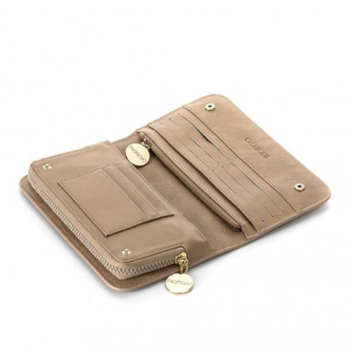 portemonnee Miomojo The Ethicool Wallet zandkleurig