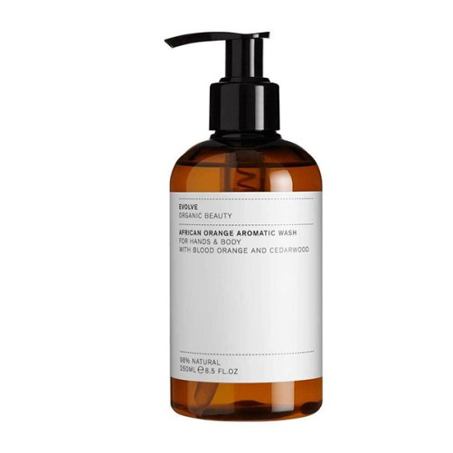 douchegel Evolve Beauty African Orange Aromatic Wash 250ml
