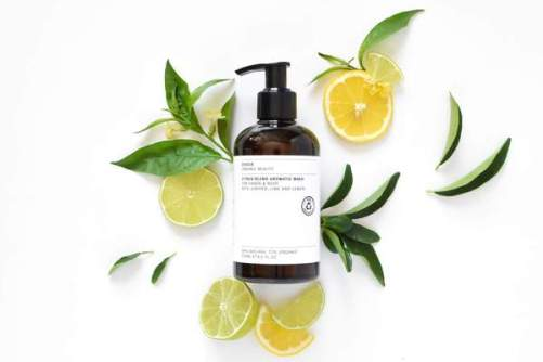 vegan douchegel Evolve Beauty Citrus Blend Aromatic Body wash 250ml