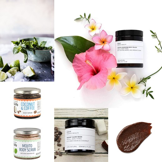 body scrub van Evolve Beauty bij tAK