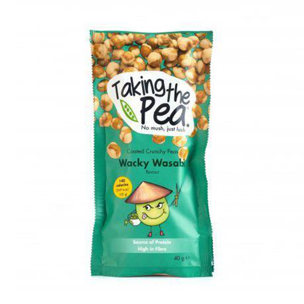 Taking The Pea snack Wacky Wasabi 40gr vegan