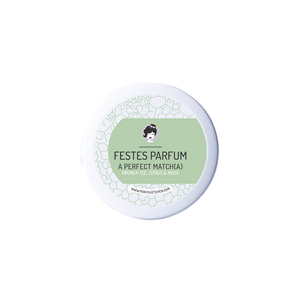 parfum a perfect matcha ponyhutchen festes parfum 12ml