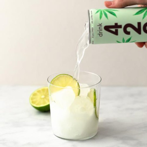 CBD frisdrank Elderflower Lime Drink 420