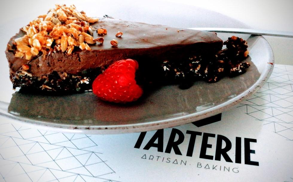 vegan taart bij Tarterie Kortrijk