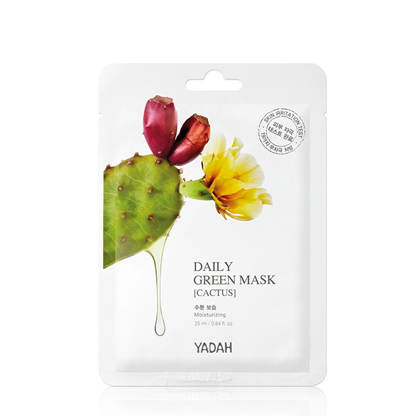 Yadah Cactus Mask Daily Green vegan