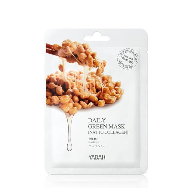 Yadah Natto Collagen Mask vegan face mask skincare