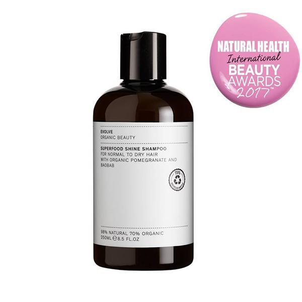 Superfood Shine Shampoo Evolve Beauty
