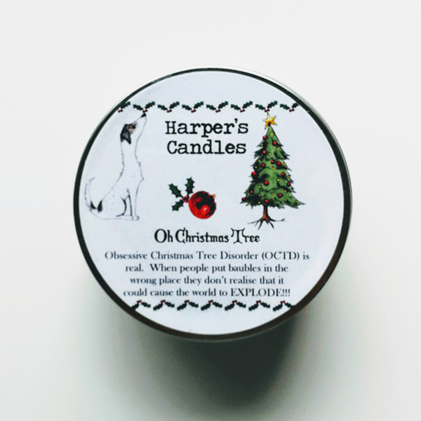 harper's candles oh christmas tree