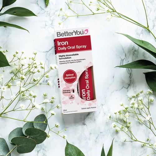 BetterYou - Iron Oral Spray - voedingssupplement, 25ml