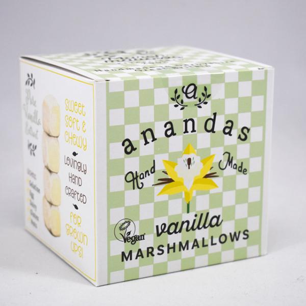 Ananda's Vanilla Marshmallows vegan Ananada Foods 80gr