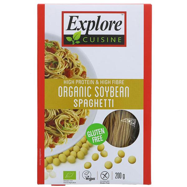 Edamame Spaghetti Explore Cuisine vegan spaghetti