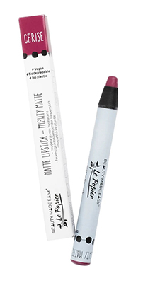 le papier mat cerise vegan lipstick zero waste