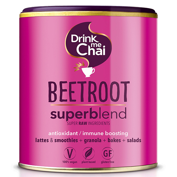 Drink me Chai Beetroot Superblend 85gr vegan chai latte