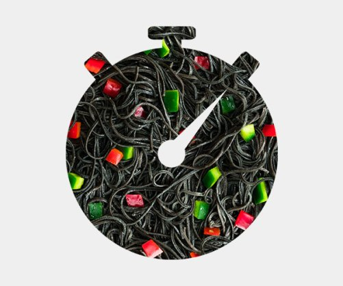 Explore Cuisine Black Bean Spaghetti vegan glutenvrij