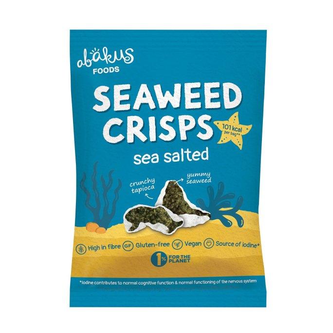 Abakus Seaweed Crisps Salted vegan zeewierchips licht gezouten