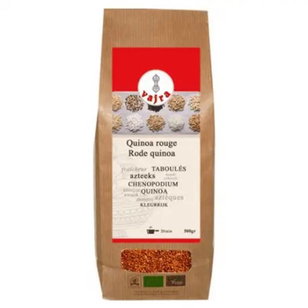 vajra rode quinoa 500gr bio glutenvrij