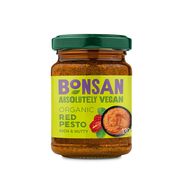 Bonsan Red Pesto vegan bio 130gr