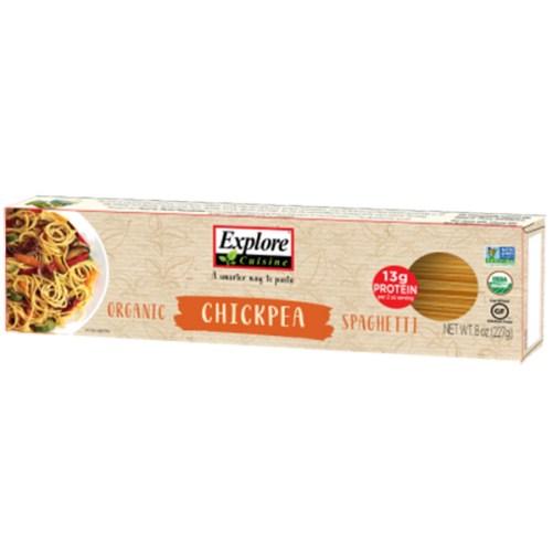 explore cuisine chickpea spaghetti 250 gr