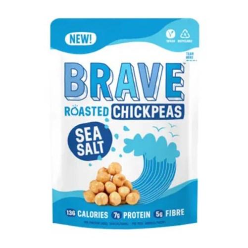 brave roasted chickpeas salt vegan snack 35gr