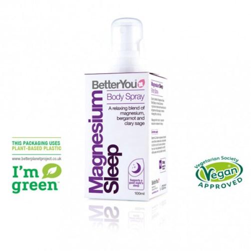 BetterYou Magnesium Sleep Body Spray vegan