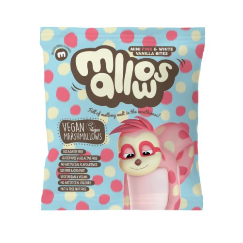 freedom mallows mini pink & white vanilla bites 75gr vegan
