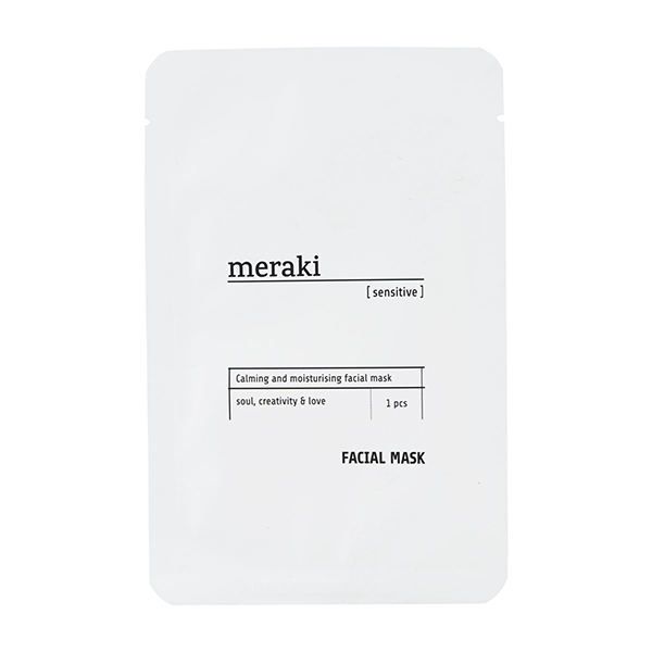 meraki facial mask sensitive vegan sheet mask
