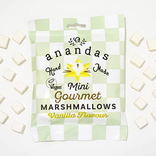 anandas mini vanilla marshmallows vegan 80gr