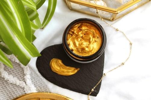Bio retinol Gold Mask Evolve Beauty vegan