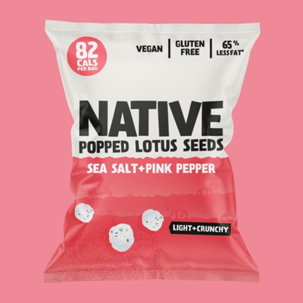 Native Popped Lotus Seeds vegan snack