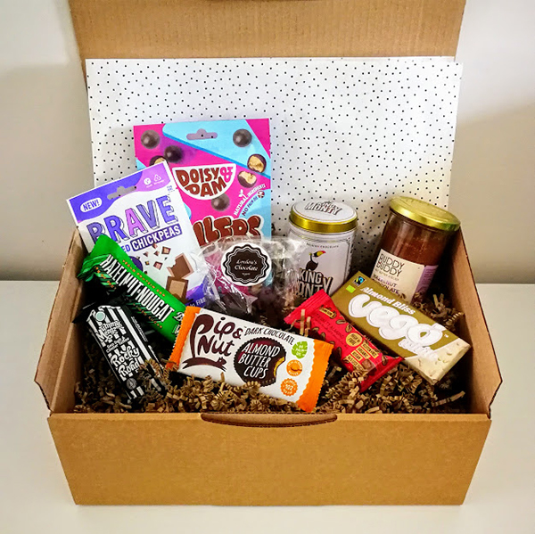 vegan gift box chocoholic