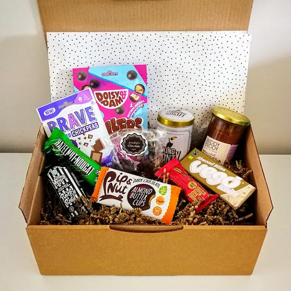 vegan gift box chocoholic