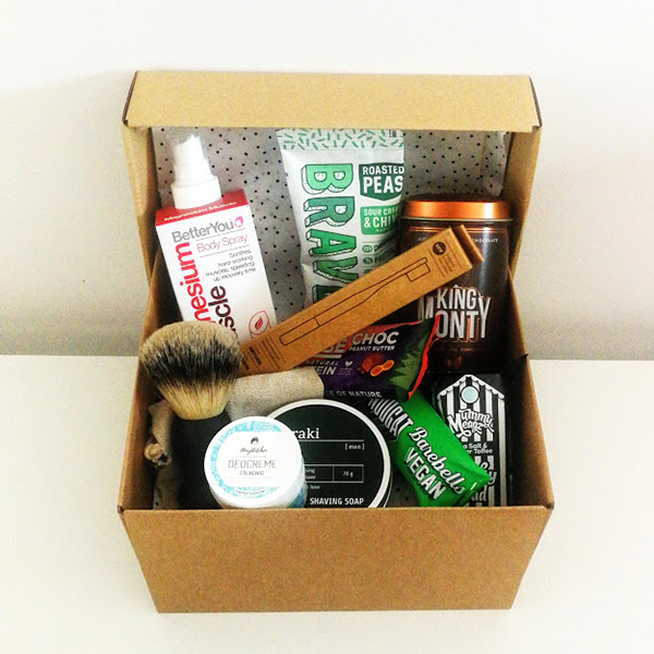 vegan gift box superman tak a plant-based lifestyle