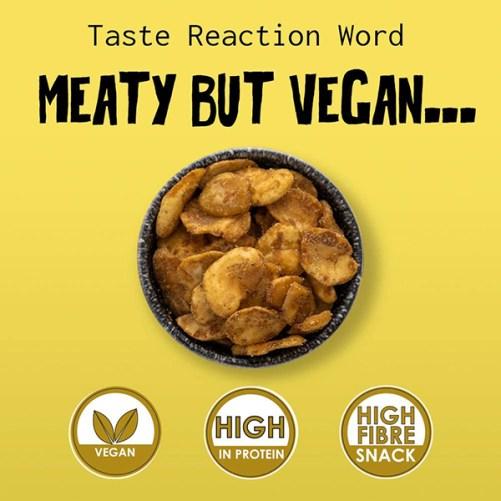 Noisy Snacks Beef Brisket Noisy Bean Chips vegan