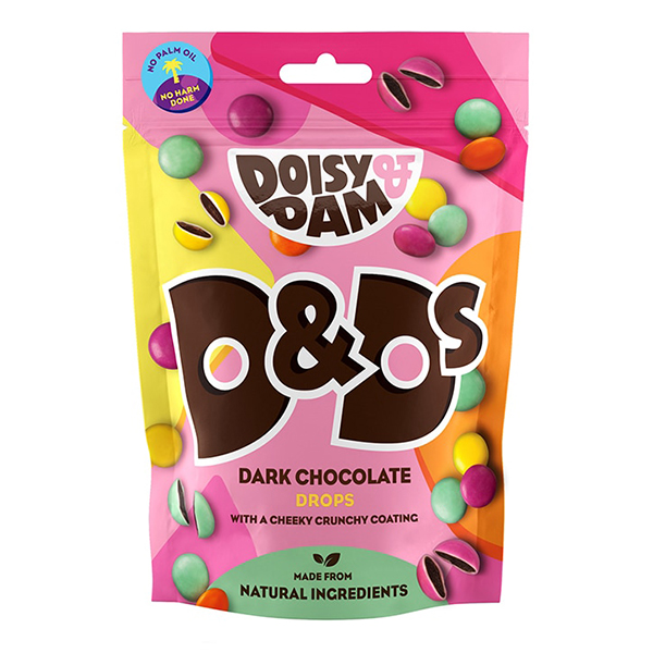doisy dam candy drops 80gr vegan smarties