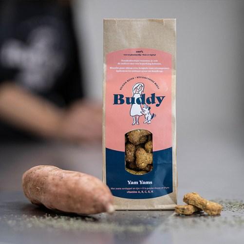 Buddy Yam Yams vegan hondenkoekjes